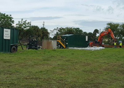 Daytona DNAPL Excavation and Free Product Recovery