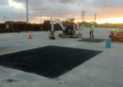 Tampa Port Authority, Berth 201 Asphalt Repair